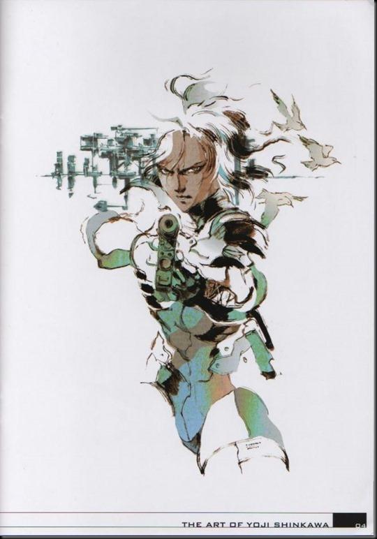 The Art of Yoji Shinkawa 1 - Metal Gear Solid, Metal Gear Solid 3, Metal Gear Solid 4, Peace Walker_802479-0008