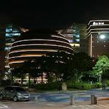 core pacific mall aka Death Star mall in Taipei, Taiwan in Taipei, T'ai-pei county, Taiwan