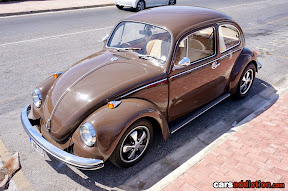 Brown Volkswagen Beetle