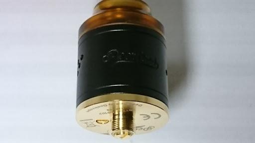 DSC 2105 thumb%25255B3%25255D - 【RDA】「Geekvape Peerless RDA」レビュー。24mm爆煙大型コイルビルド可能な高級感あふれるドリッパー!!ボトムフィード対応【ギークベープ/ビルド/電子タバコ】