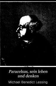 Cover of Michael Benedict Lessing's Book Paracelsus, Sein Leben und Denken (in German)