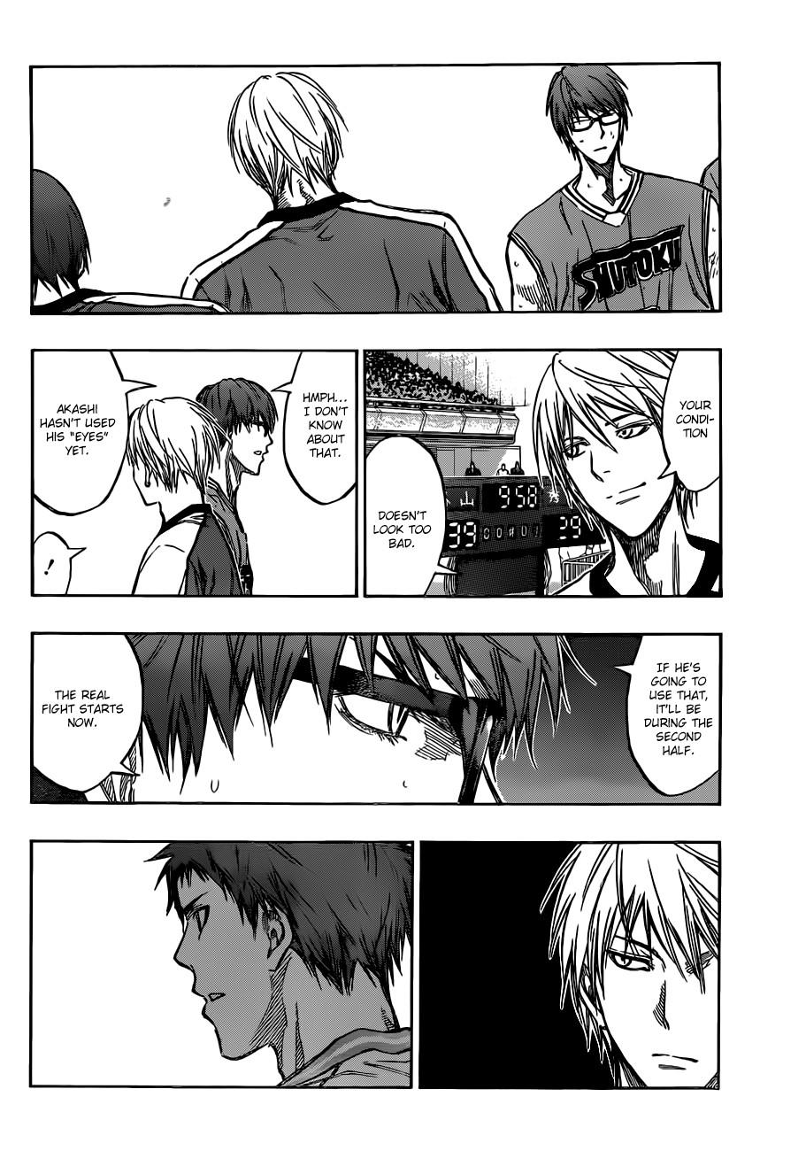 Kuroko no Basket Manga Chapter 178 - Image 06