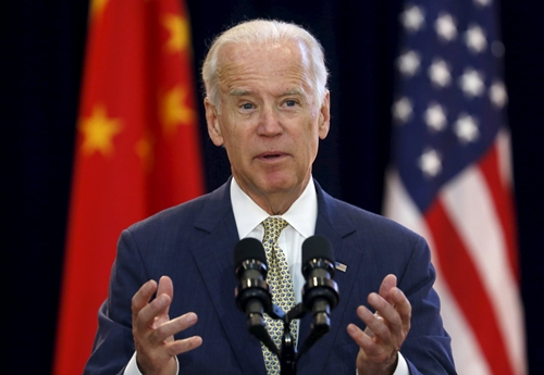 REFILE  CORRECTING TYPO US Vice President Joe Biden delivers remarks at the Strategic and Economic Dialogue SED at the State Department in Washington June 23 2015 More than 400 Chinese officials are in Washington for annual talks under the wideranging Strategic and Economic Dialogue SED framework which will involve eight US cabinet secretaries REUTERSYuri Gripas