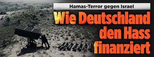جريدة Bild الألمانية تفتح النار على الحكومات الأوروبية: من أين حصلت إرهابي حماس على الأموال؟ ( كيف  تمول ألمانيا الكراهية)؟