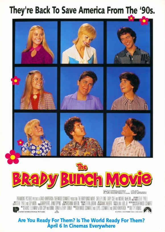 "The Brady Bunch Blog: ""The Brady Bunch Movie"" Advance Poster"