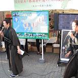 samurai at the kyushu festival in shibuya in Shibuya, Tokyo, Japan