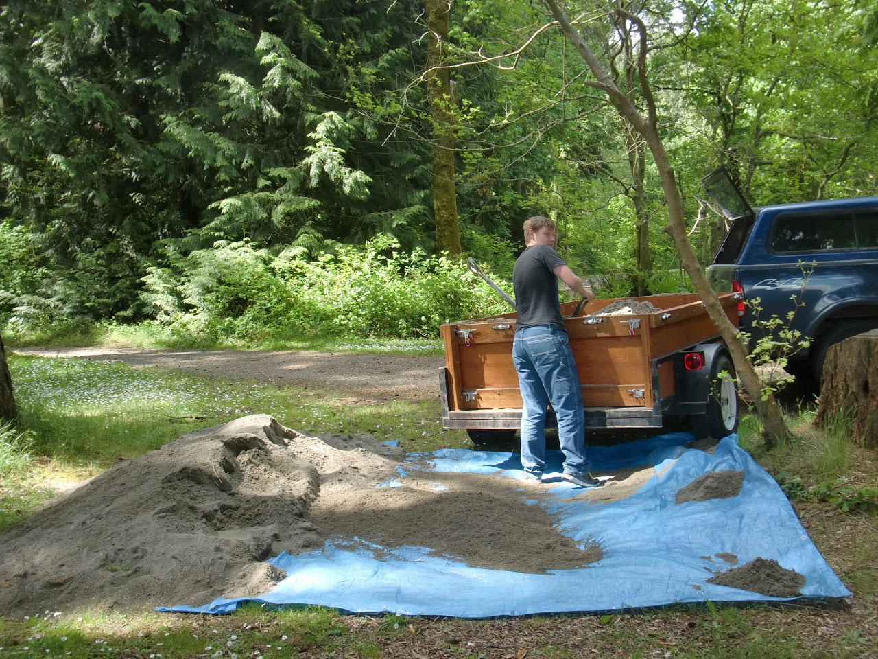Second load of sand to Millersylvaina