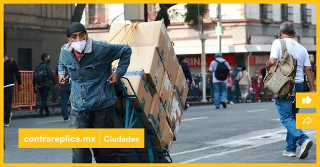 Recuperación de 216 mil empleos perdidos en la CDMX .