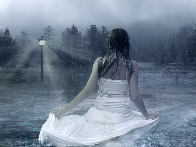 Light And Raining Water Beauty, Magic Beauties 1