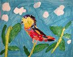 Collage Bird by Raaga