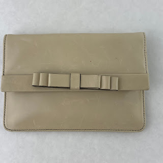 Valentino Stone Colored Bow Wallet