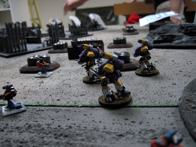 Wardens take on Speeders