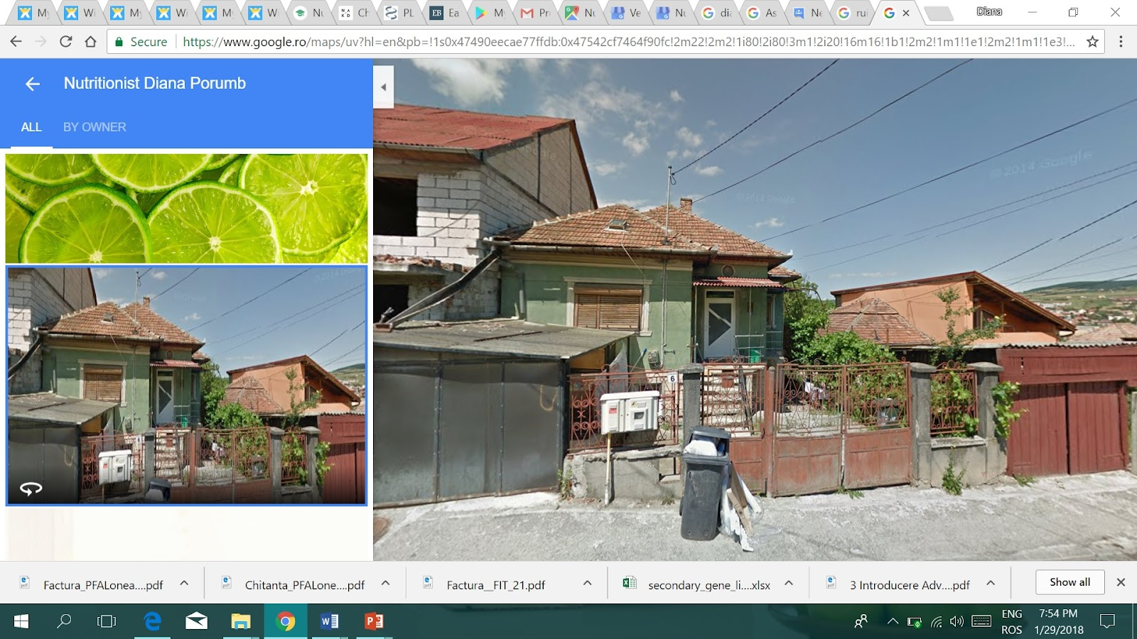 The image on google street view is a ruin. How can I change it ... on