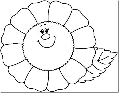 flore sencillas para colorear  (18)