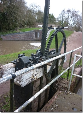 11 sluice gear from reservoir to canal