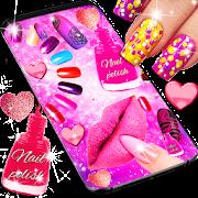 Nail Art For Girls Live Wallpaper Apps On Google Play