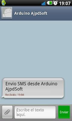 Programar Arduino para enviar SMS a móvil