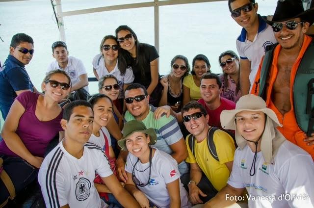 Ufersa: estudantes de Engenharia de Pesca realizam prática em mar aberto