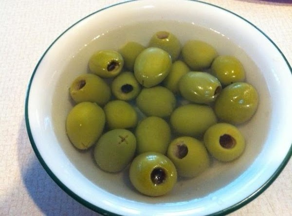 soaking olives in water