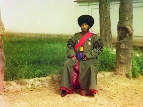 Исфандияр Юрджи Бахадур, хан региона Хорезм (Хива, теперь часть современного Узбекистана), ок. 1910 год