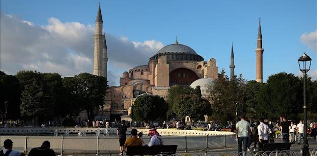 Muslim Afrika Selatan Puji Erdogan Yang Sudah Kembalikan Fungsi Hagia Sophia Jadi Masjid