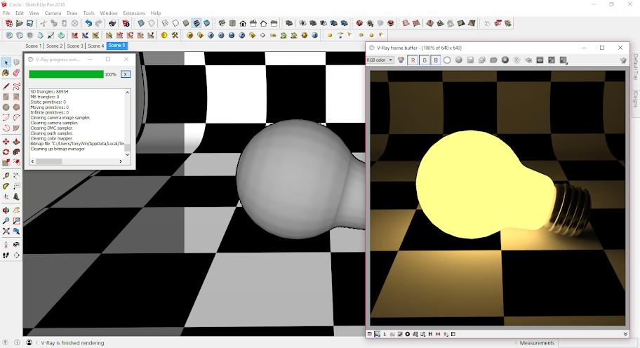 การติดตั้ง V-Ray 2 ให้ใช้งานได้กับ SketchUp 2016 Vraysu2016