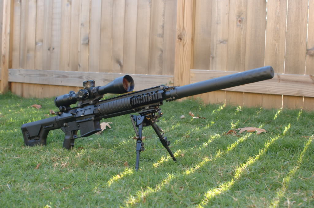 TOP ARMOUR: TOP TEN SNIPER RIFLES M110 Sniper Rifle Suppressed