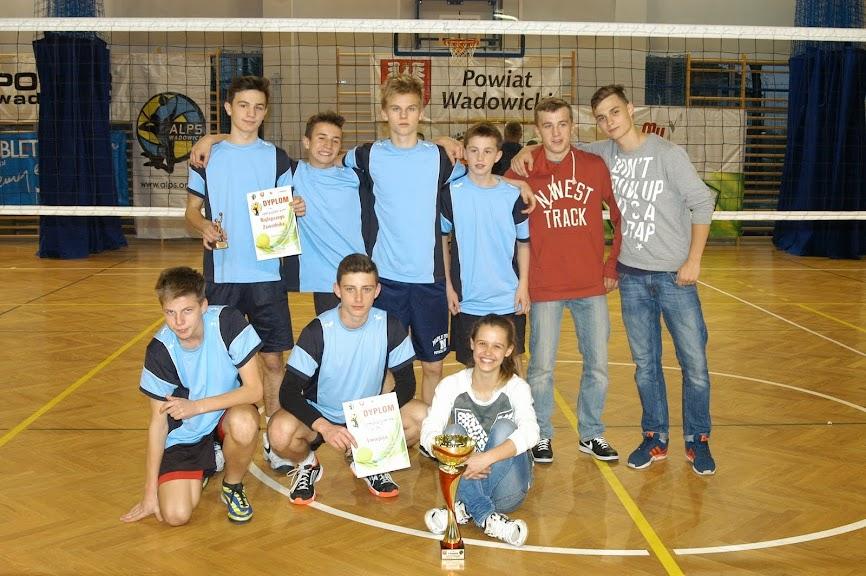 Mistrzostwa Miejsko- Gminne w siatkówce