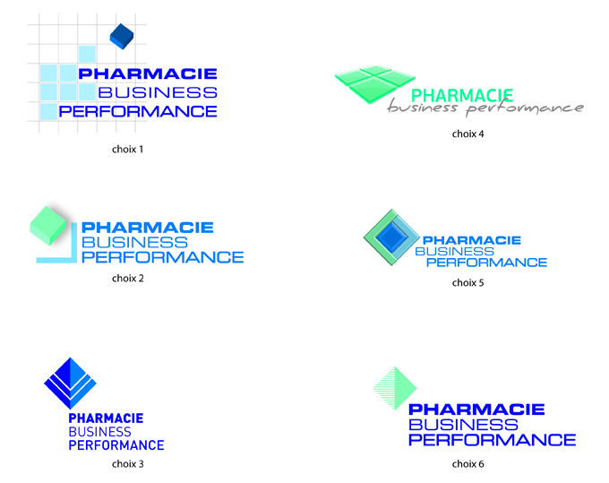 logos Pharmacie Business Performance -SansException