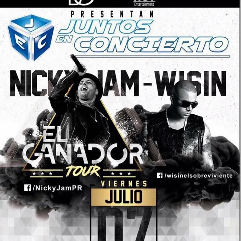 Julio 2017: Concierto de Nicky Jam y Wisin en Bolivia
