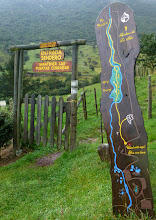 Photo: A marked and maintained trail goes uphill from Termas Papallacta