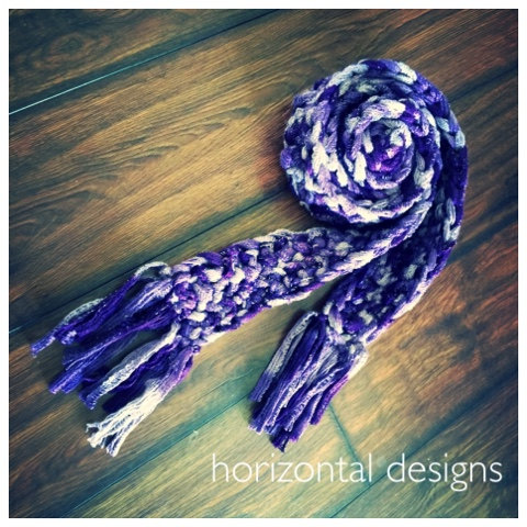 Studio Create: Free Crochet Pattern! Skinny Sashay Scarf - No Ruffles!