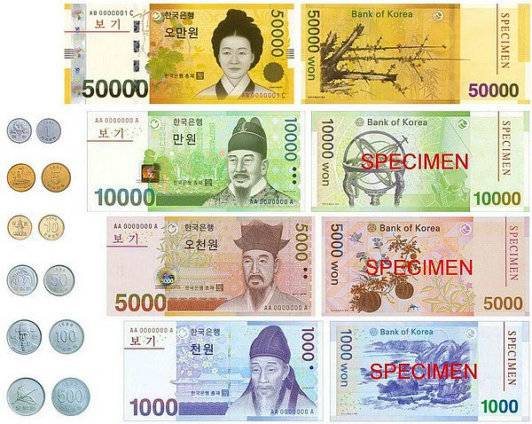 Money South Korea