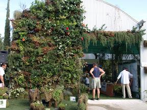 Pépinière DERBEZ  : foire expo rencontres et jardins prés du polo de Gassin expositions de mur végétaux et clôtures végétalisées vente de sphaigne