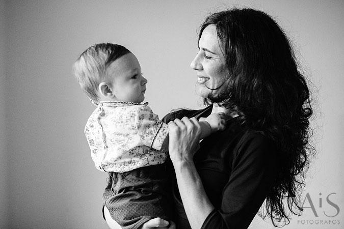 Retratos de bebé, la mirada de Víctor