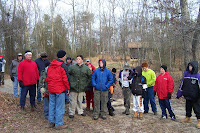 A hike to show the potential new scouts camp