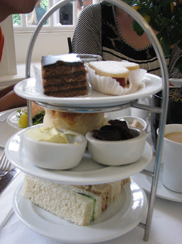 High tea at The Orangery in Kensington Palace, London, United Kingdom