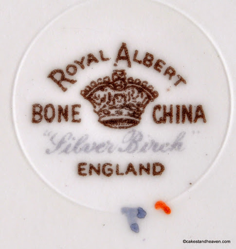 Royal Albert c.1930s backstamp Silver Birch