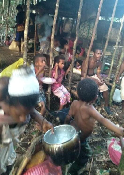 Masyarakat Sipil di Maybrat Mengungsi Akibat Perusakan Perumahan Warga Oleh TNI-POLRI Setelah 4 TNI AD Gugur