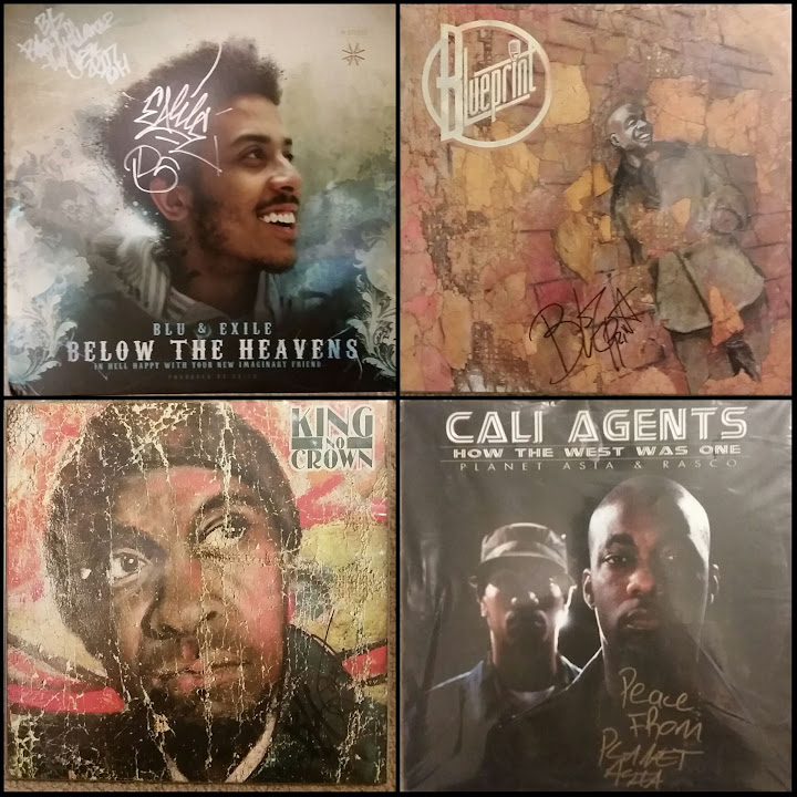 Signed vinyl page 3 vinyl me please forum blu exile below the heavens blue vinyl version signed by blu exile blueprint respect the architect blueprint king no crown malvernweather