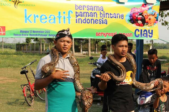 Sahabat Reptil Bekasi Rumah Pelangi
