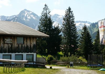 ParkplatzNaturpark Strausberg Strausbergsattel Strausberghütte Imberg Sonthofen Allgäu