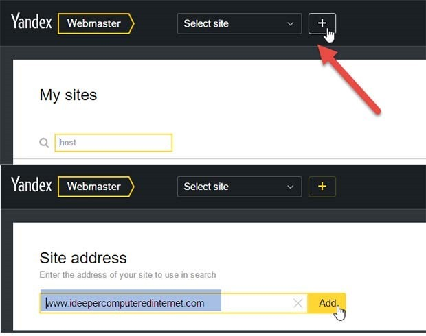 yandex-aggiungere-sito