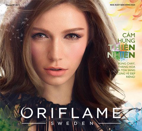 Catalog Oriflame tháng 9/2015