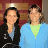 Women's 40+: Champion - Hope Prockop (Groton); Finalist - Wendy Ansdell (Concord-Acton Squash Club)