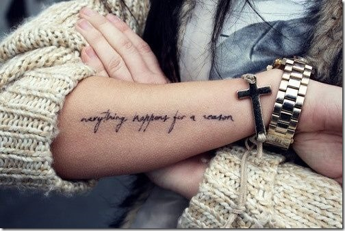 adorable externe de l'avant-bras tatouages - idées et photos de