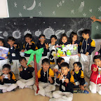 Show and Tell Activity (Space) (Jr.KG.) 8-12-2015