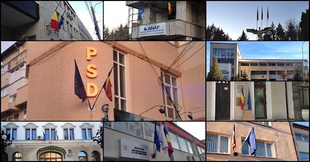 FOTO Doliul Naţional este respectat pe sărite la Suceava. Instituţiile care au încălcat decizia Guvernului