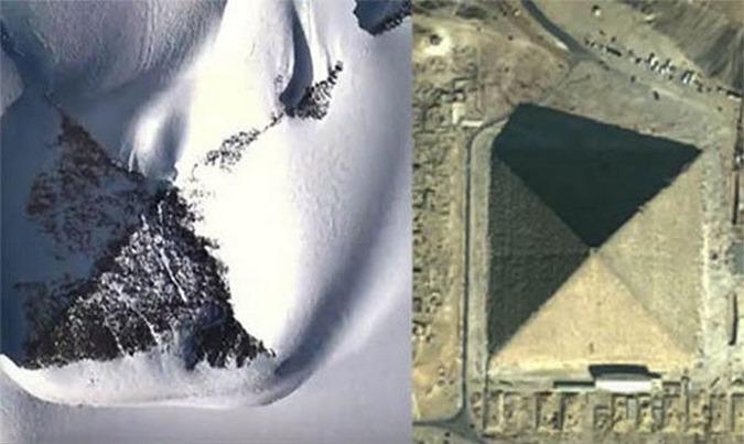 pirâmide descoberta na Antártida 03