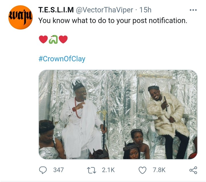 'Crown Of Clay': MI Abaga And Vector End Beef, Announce Collaboration (Pix)